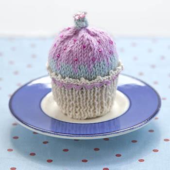 Pink Iced Cupcake