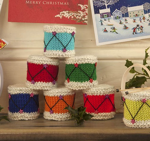 Free Christmas Drum Knitting Pattern Susan Penny