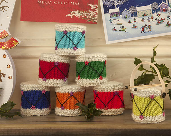 Knit a Christmas Drum