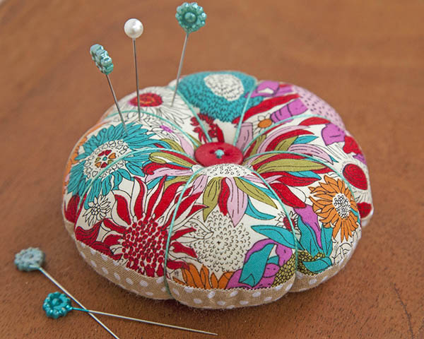 Make this pretty pincushion in less than an hour