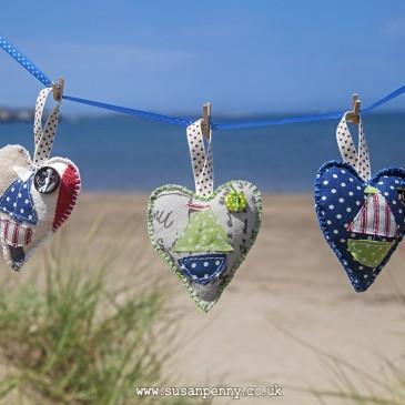 Sailing Boat Hearts
