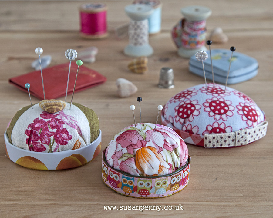 Really easy pincushions