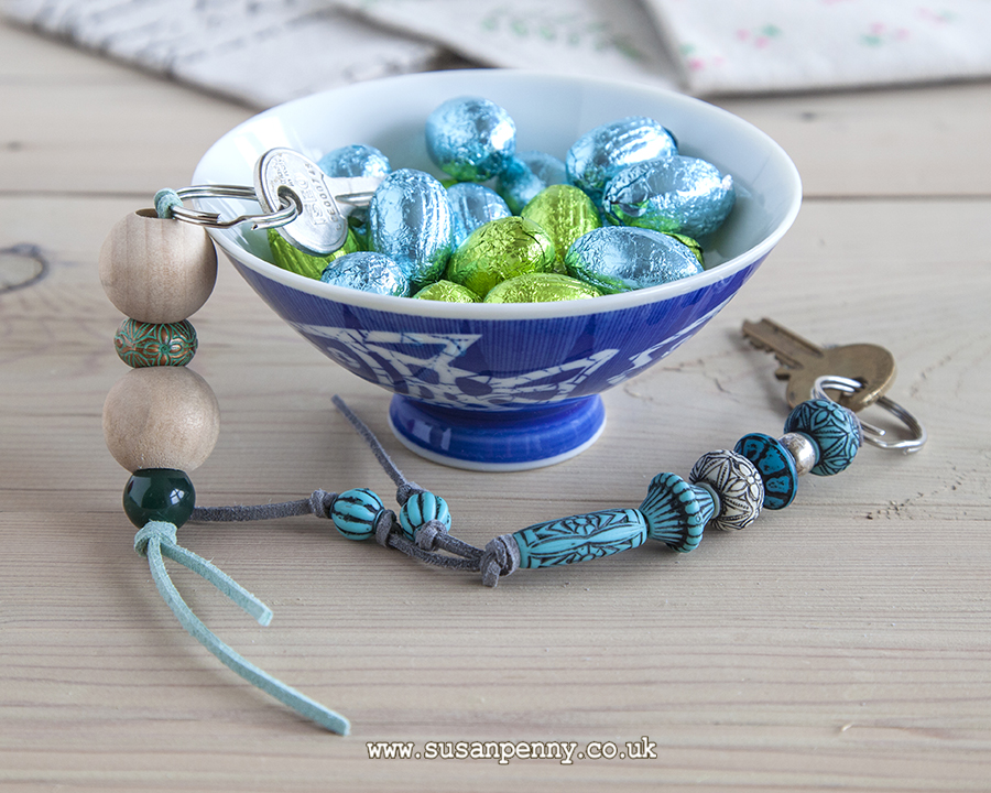 Make these great beaded key rings for teachers
