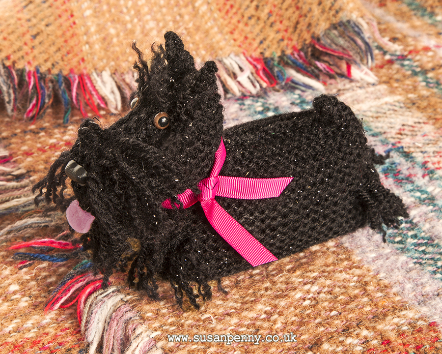 Scottie Dog Knitting Pattern Dld007 Susan Penny