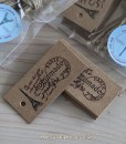 Homemade Just For You Brown Kraft Tags