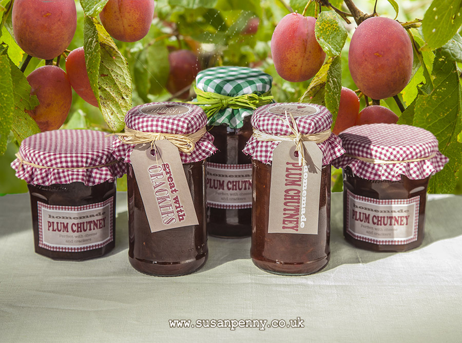 Make some sweet Plum Chutney