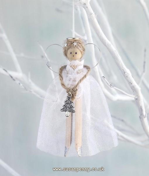 Christmas Peg Fairy